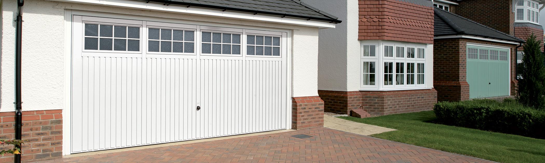 Side Hinged Power Doors Garage Doors Lochwinnoch